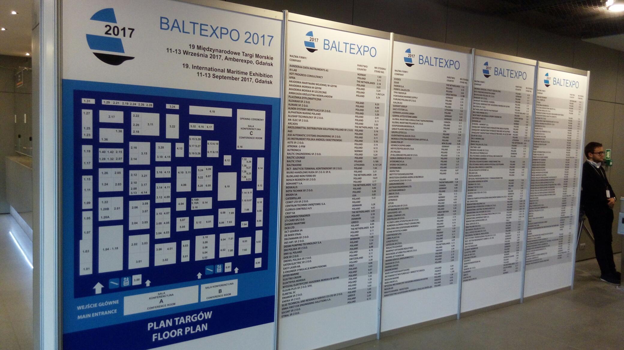 BaltExpo2017 - Simex - osprzęt dla statków